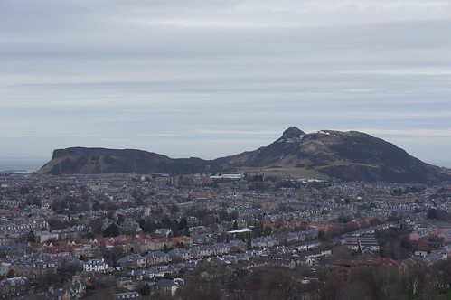 Arthur's Seat from Blackford Hill, Edinburgh