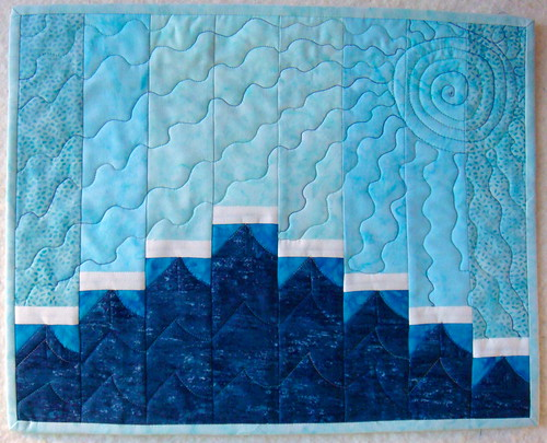 Project Quilting Season 4 Challenge 2- The beach, baby!