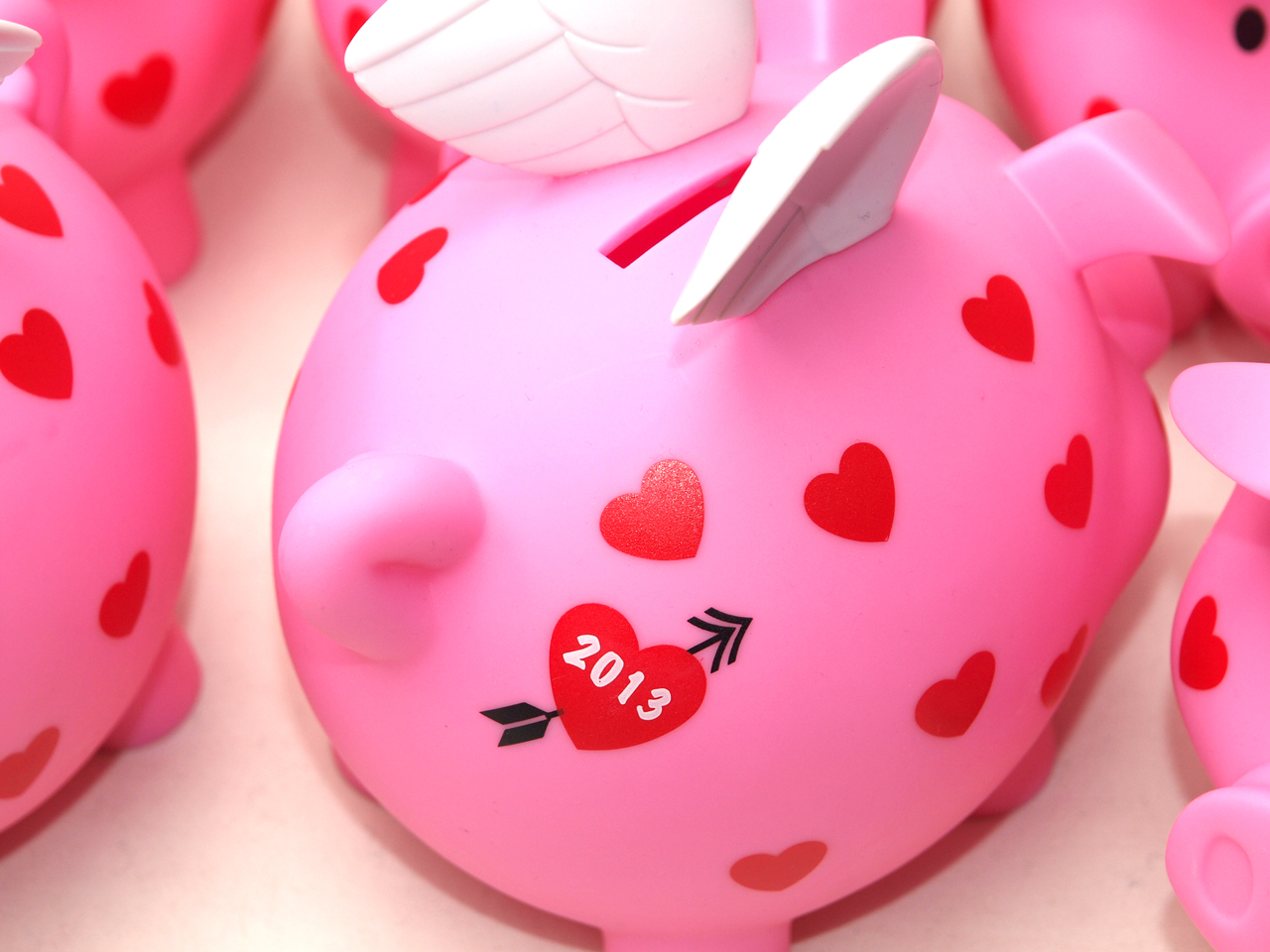 Old Navy / Piggy Bank 2013 - Valentine