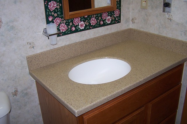 Solid Surface Countertop Bathroom Flickr Photo Sharing