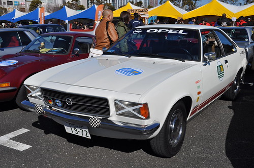 1972 OPEL REKORD Coupe
