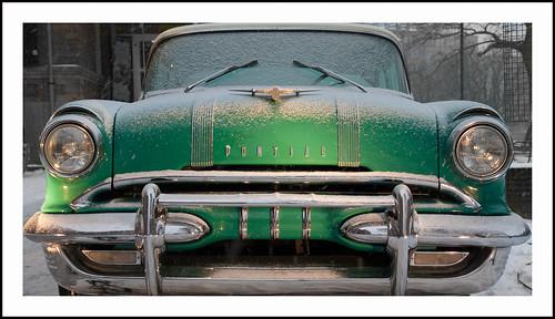 Pontiac in de sneeuw (3) by hans van egdom