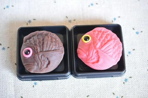 麻布青野総本舗 上生菓子しょこら鯛 目出鯛