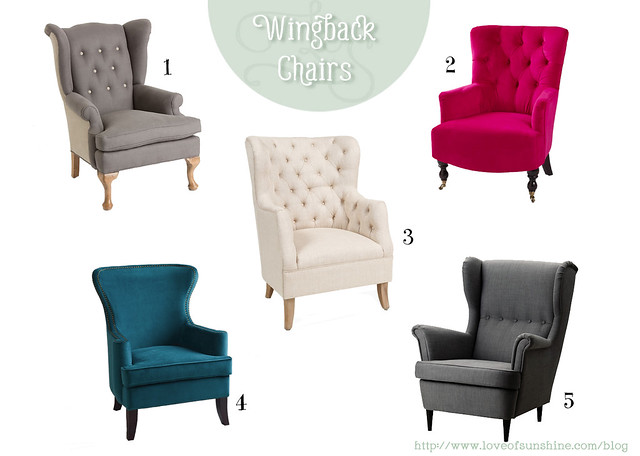 The Cafer Club Chair From Overstock $533 4. The Elliot Wingback Chair From  World Market $279, ...