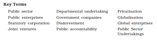 NCERT Class XI Business Studies: Chapter 3 – Private, Public and Global Enterprises