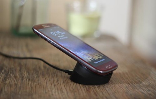 Samsung GALAXY S3 wireless charger hack