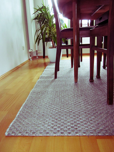 New carpet for the dining table