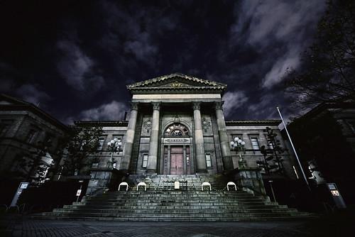 [フリー画像素材] 建築物・町並み, 施設, 図書館, 風景 - 日本 ID:201302091600