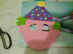 fig 5 maschera di pagliaccio