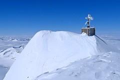 Gipfel mit Gipfelkreuz Großvenediger, 3667 m, Hohe Tauern. Foto: Günther Härter.