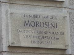 Plaques in Lugano