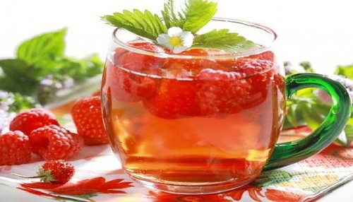 Burn-Fat-By-Amazing-Raspberry-Green-Tea