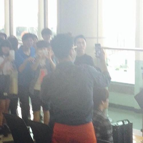 BIGBANG departure Jeju 2015-05-20 06