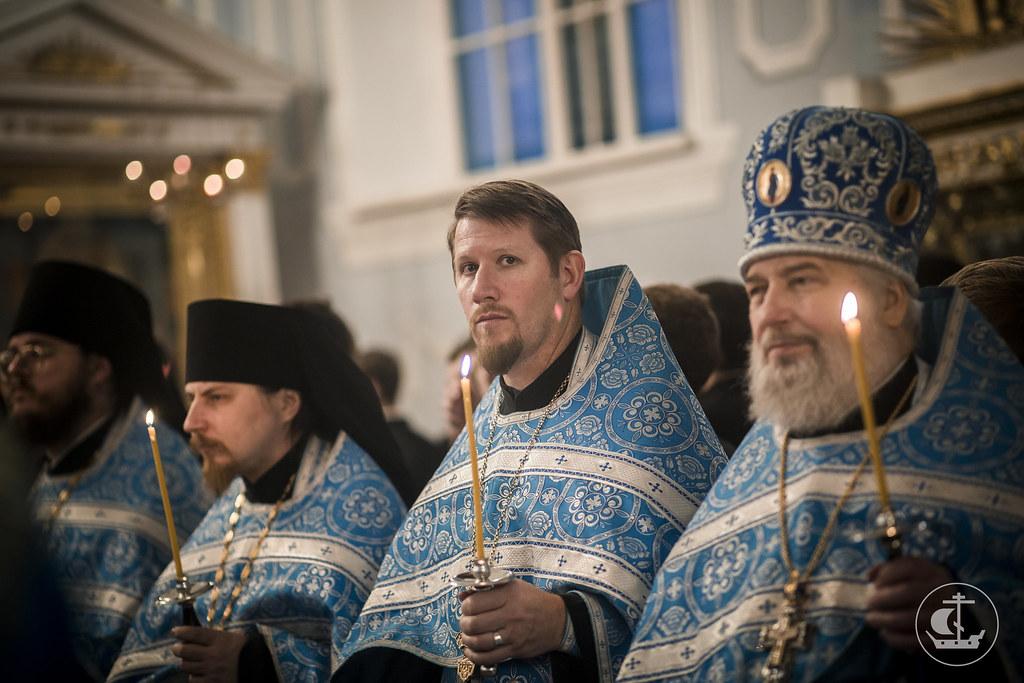 20 сентября 2016, Всенощное накануне Рождества Пресвятой Богородицы / 20 September 2016, Vigil on the eve of the Nativity of Our Most Holy Lady the Theotokos