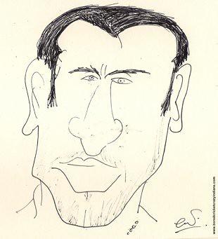 Cheteshwar Pujara Cartoon