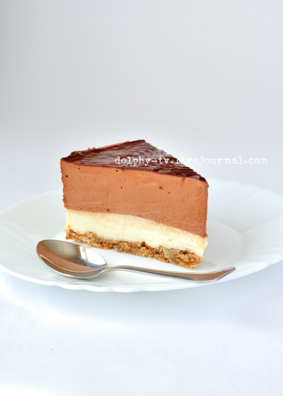 Chocolate and Orange Mousse Cake