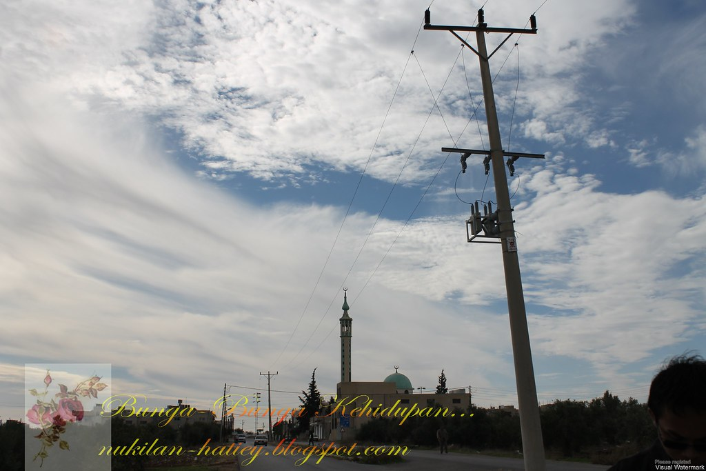 Awan dan Masjid,Allahu Akbar!