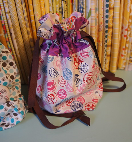 Jeni's Drawstring Bag Pattern