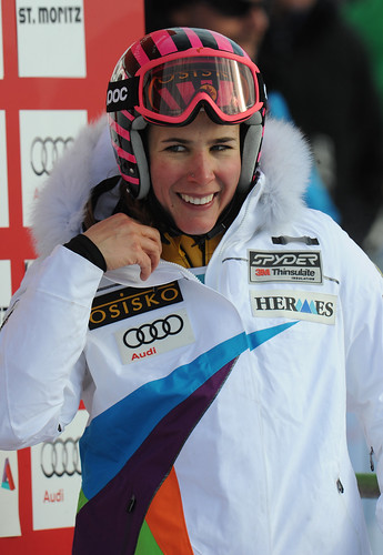 Marie-Michèle Gagnon finishes 12th in World Cup giant slalom in St. Moritz, Switzerland.