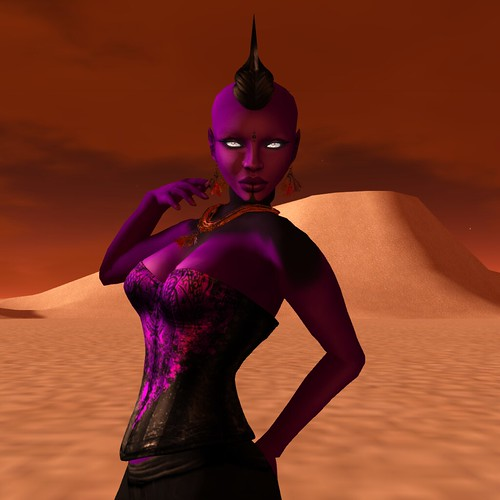 Nuuna's Skins: Purple in the desert