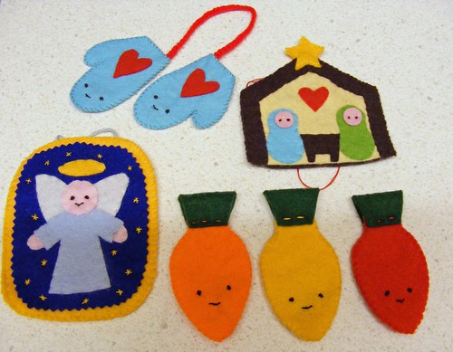 Felt Christmas Decorations