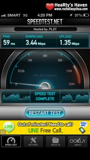 Smart Data Plan Speed Test