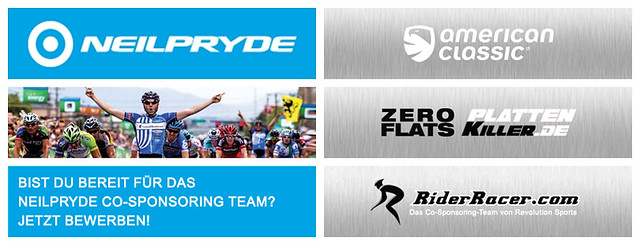 REVOLUTION SPORTS CO-SPONSORING PROGRAMM NEILPRYDE
