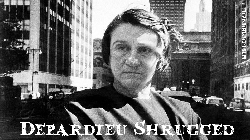DEPARDIEU SHRUGGED