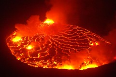 types of volcanic eruptions(1.0), lava(1.0), volcanic landform(1.0),