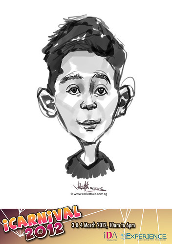 digital live caricature for iCarnival 2012  (IDA) - Day 2 - 76