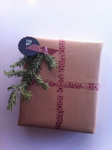 DIY wrap paper