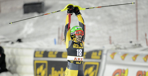 Erin Mielzynski finishes fifth in World Cup slalom in Are, Sweden.