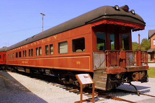 Tennessee Valley Railroad Office Car #98