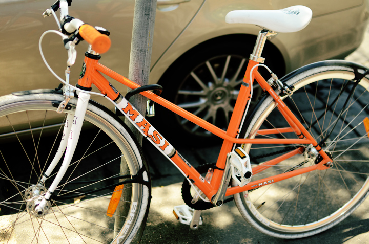 orange masi bike