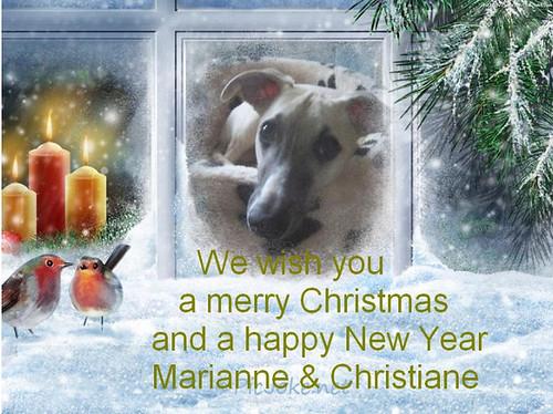 Weihnachten 2012MarianneChristiane