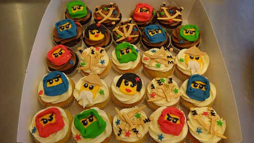 Ninjago Cupcakes by CAKE Amsterdam - Cakes by ZOBOT