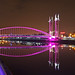 Small photo of Lowry Footbridge, Salford Quays