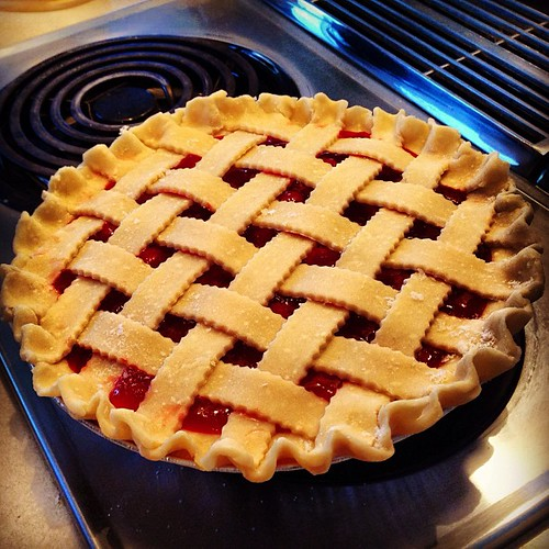 Cherry pie for Amy's party