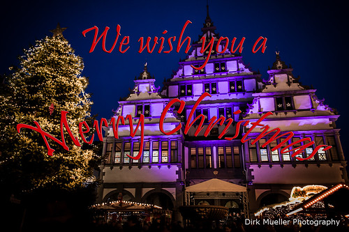 We wish you a Merry Christmas by Dirk Mueller Photography