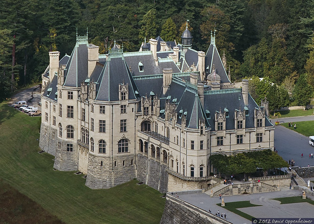 Biltmore Estate Aerial Photo Of Biltmore House Flickr