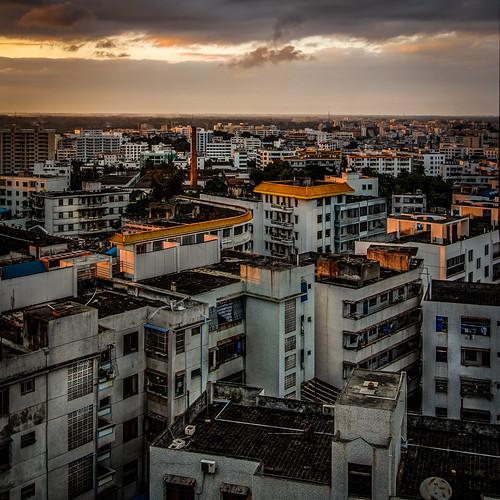 china travel sunset landscape hainan wenchang exposurefusion