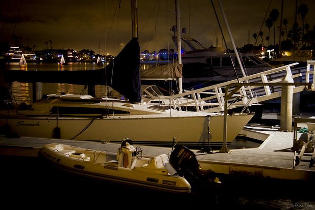 Naples island boats