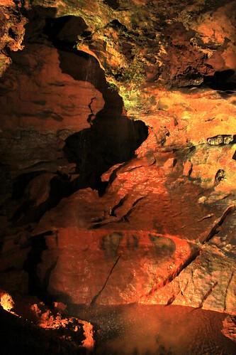 waterfall tn tennessee cave cavern touristtrap sweetwater lostsea monroecounty thelostsea undergroundwaterfall bmok craigheadcaverns bmok2 cavewaterfal
