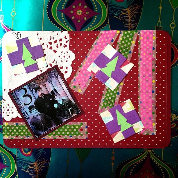#presents #christmas #postcard #snailmail #washitape #doyle