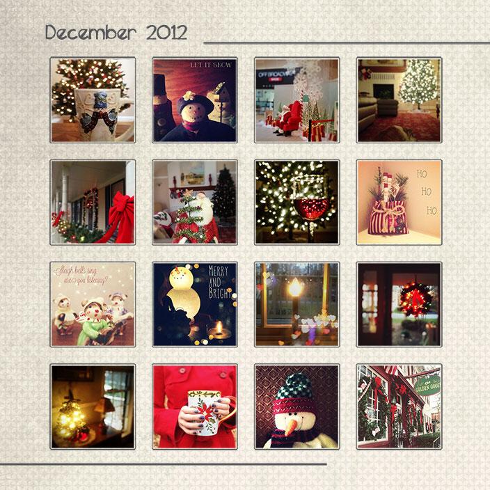 Christmas-2012-Instagram-mosaic
