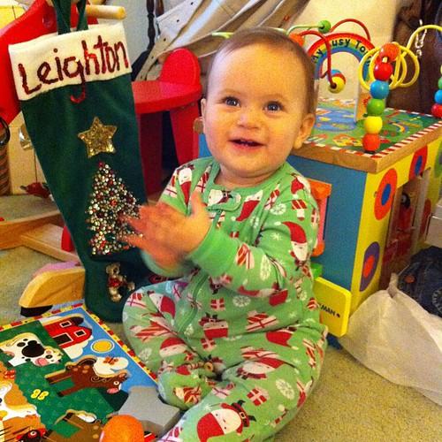Yay! Christmas! Clap! Clap! Clap!