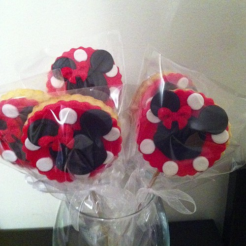 #minniemousecookies by l'atelier de ronitte