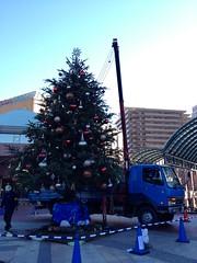 クリスマスツリーの撤収