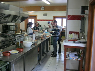 Monte Conca kitchen crew