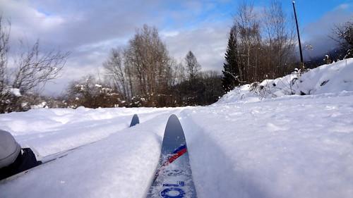 winter snow river relax nordic odc slocanriver slocanvalley photoadaydecember